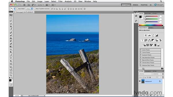 Changing Mini Bridge so it auto-collapses: Photoshop CS5 Essential Training