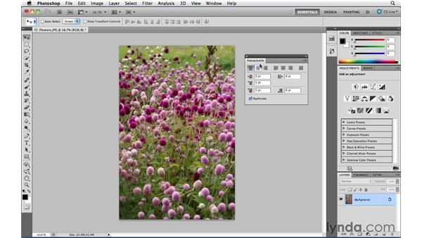 Panel management: Photoshop CS5 Essential Training