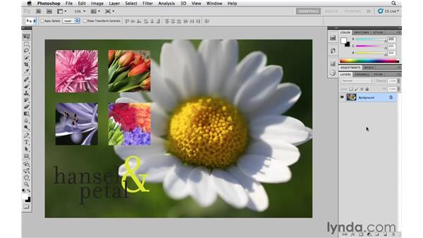 Flatten vs. Save As (a Copy): Photoshop CS5 Essential Training
