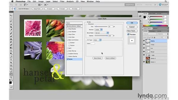 how to put a border around photoshop image