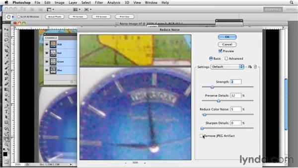 Removing patterns: Photoshop CS5: Prepress and Printing