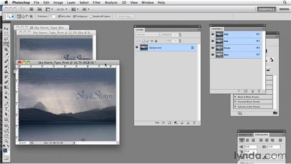 Simplifying with TIFF files: Photoshop CS5: Prepress and Printing