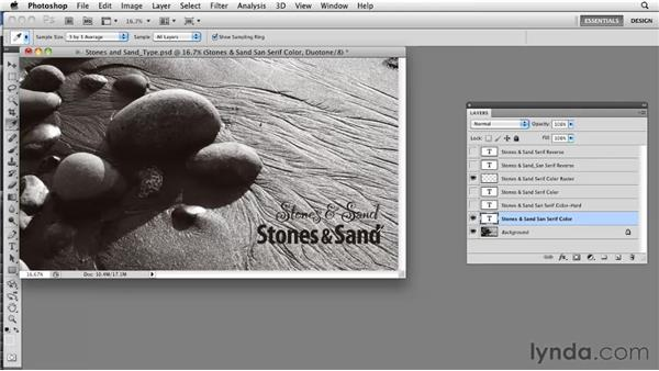 Choosing and formatting fonts for printing: Photoshop CS5: Prepress and Printing