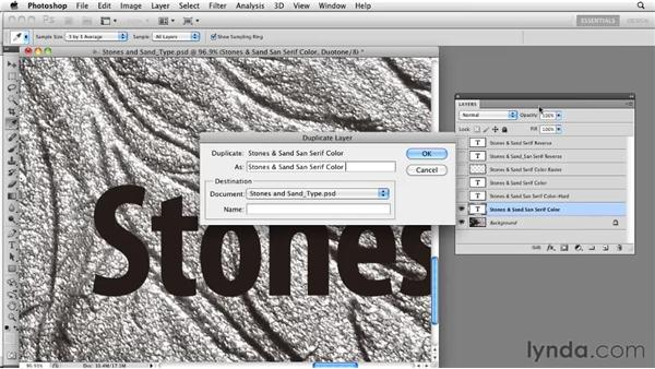 Comparing editable and raster types: Photoshop CS5: Prepress and Printing