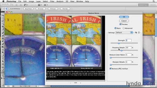 Sharpening noisy images: Photoshop CS5: Prepress and Printing