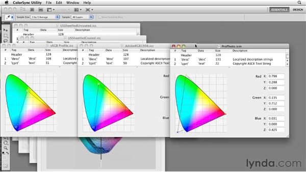Understanding color spaces,  gamuts, and profiles: Photoshop CS5: Prepress and Printing
