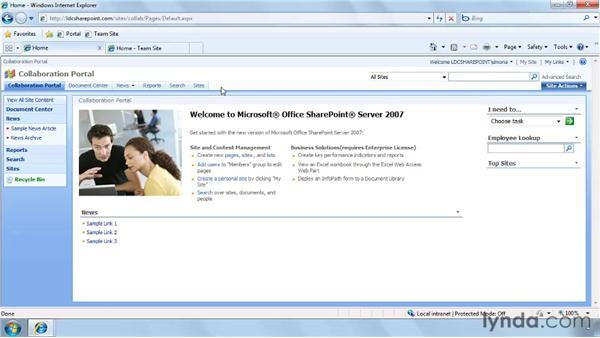 Exploring automatic navigation: SharePoint Designer 2007: Branding SharePoint Sites
