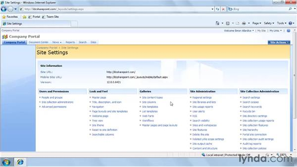 Discovering what permissions you have on an existing site: SharePoint Designer 2007: Branding SharePoint Sites