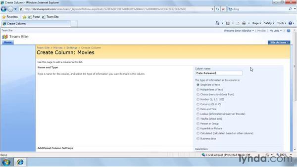 Creating custom lists: SharePoint Designer 2007: Branding SharePoint Sites