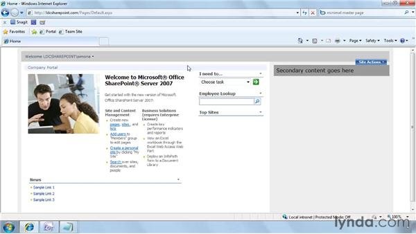 Designing a new overall master page: SharePoint Designer 2007: Branding SharePoint Sites