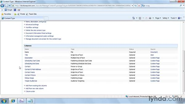 Creating a custom content type: SharePoint Designer 2007: Branding SharePoint Sites