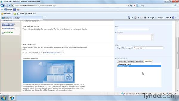 What is the Collaboration Portal?: SharePoint Designer 2007: Branding SharePoint Sites