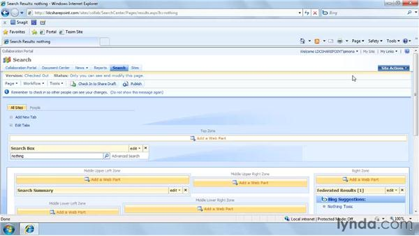 Customizing the Search Center site: SharePoint Designer 2007: Branding SharePoint Sites