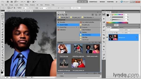 Using Mini Bridge in Photoshop CS5: Photoshop CS5 One-on-One: Fundamentals