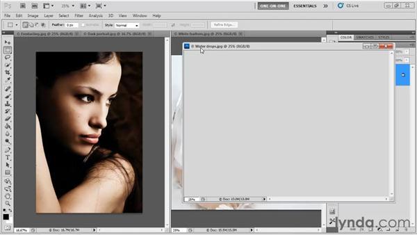 Arranging image windows: Photoshop CS5 One-on-One: Fundamentals