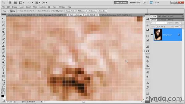 New zoom tricks in Photoshop CS5: Photoshop CS5 One-on-One: Fundamentals