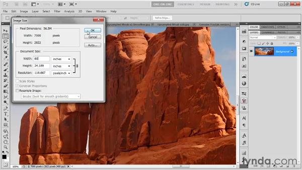 Better ways to make a big image: Photoshop CS5 One-on-One: Fundamentals