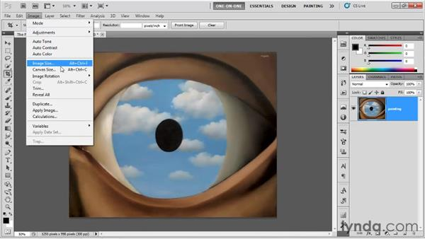 Perspective cropping: Photoshop CS5 One-on-One: Fundamentals