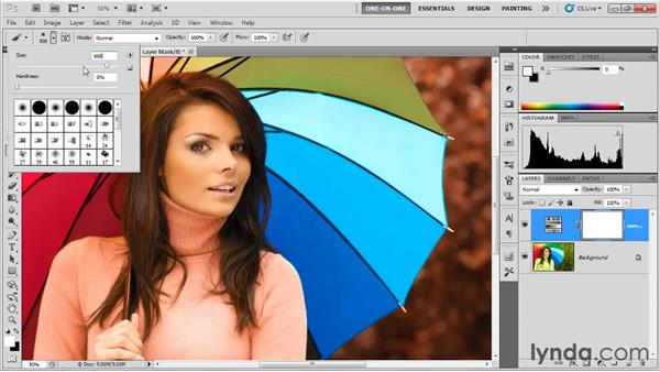 Adjusting the color of clothing: Photoshop CS5 One-on-One: Fundamentals