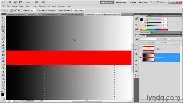 Tolerance and other options: Photoshop CS5 One-on-One: Fundamentals