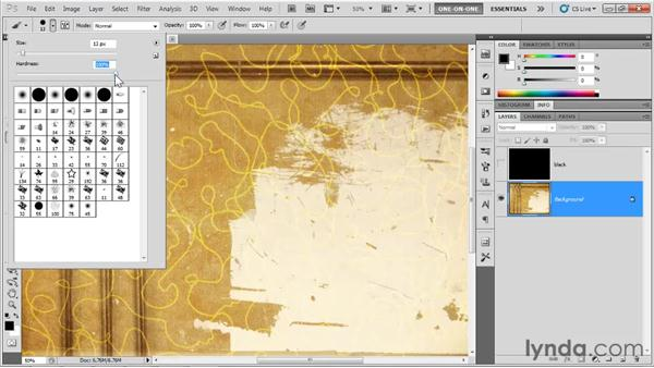 How brushing works: Photoshop CS5 One-on-One: Fundamentals