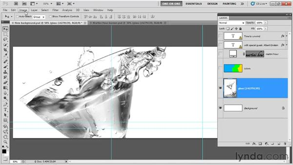 "Working with ""big layers"": Photoshop CS5 One-on-One: Fundamentals"