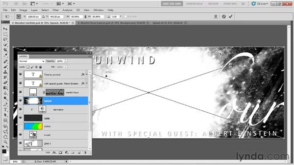 Dragging and dropping from your desktop: Photoshop CS5 One-on-One: Fundamentals