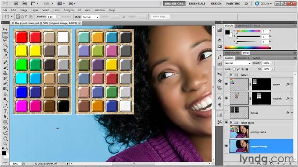 Printing an RGB composite: Photoshop CS5 One-on-One: Fundamentals