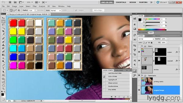 Customizing the subjective print file: Photoshop CS5 One-on-One: Fundamentals