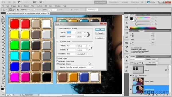 Three important printing curiosities: Photoshop CS5 One-on-One: Fundamentals