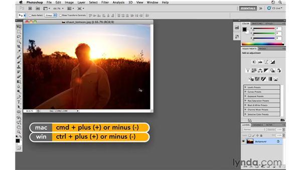 Zoom preferences: Photoshop CS5 for Photographers