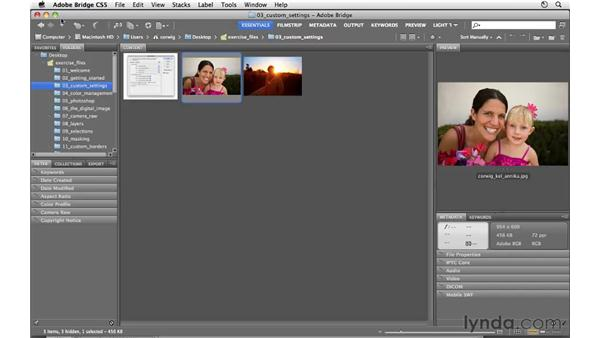 Interface preferences: Photoshop CS5 for Photographers