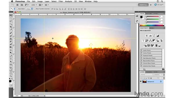 Guides and type preview preferences: Photoshop CS5 for Photographers