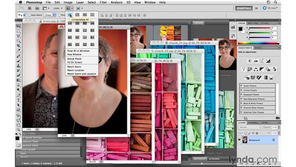 Viewing and arranging documents: Photoshop CS5 for Photographers