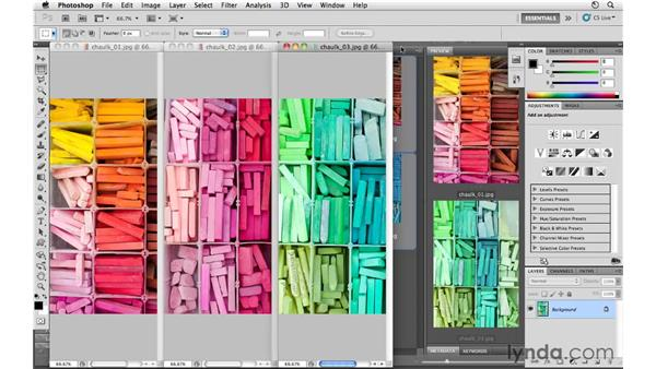 Closing multiple images: Photoshop CS5 for Photographers