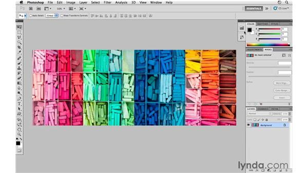 Working with panels: Photoshop CS5 for Photographers