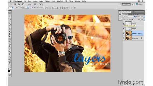 Working with layers: Photoshop CS5 for Photographers