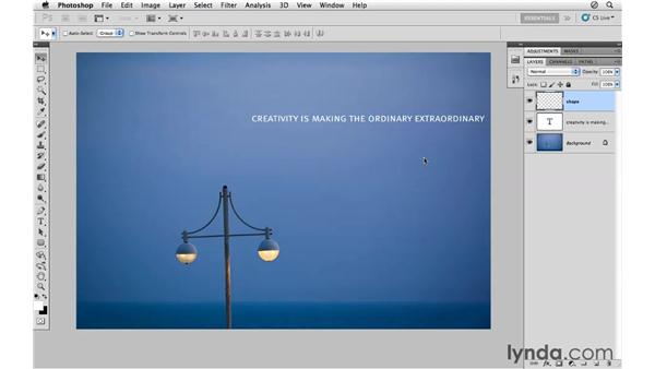 Creating new layers: Photoshop CS5 for Photographers
