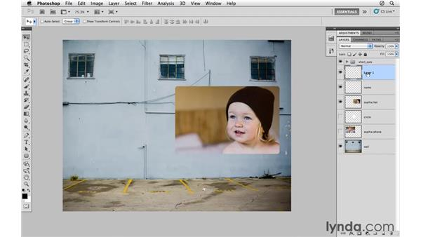 Layers shortcuts: Photoshop CS5 for Photographers
