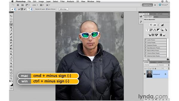 Using the Quick Select tool for creative color effects: Photoshop CS5 for Photographers