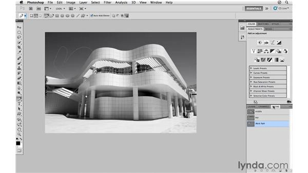 Introducing paths: Photoshop CS5 for Photographers