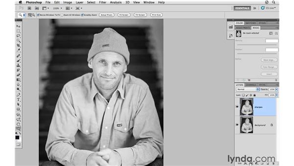 Masking and selective sharpening: Photoshop CS5 for Photographers