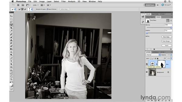 Using the Mask panel controls: Photoshop CS5 for Photographers