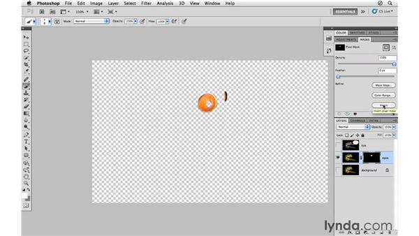 Quick Mask mode: Photoshop CS5 for Photographers