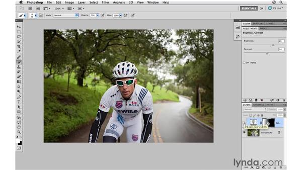 Adjusting brightness and contrast: Photoshop CS5 for Photographers