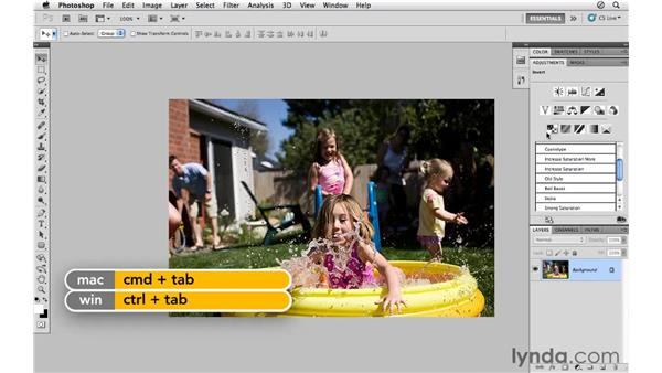 Working with adjustment layer presets: Photoshop CS5 for Photographers