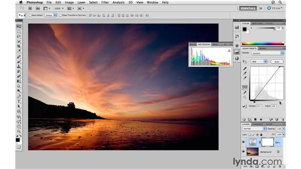 Using curves to modify color, contrast, and tone: Photoshop CS5 for Photographers