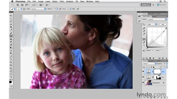 Enhancing a portrait with hand-painted masks: Photoshop CS5 for Photographers