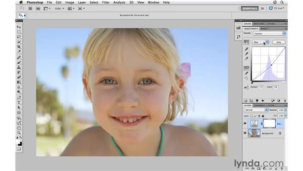 Using curves to enhance color: Photoshop CS5 for Photographers