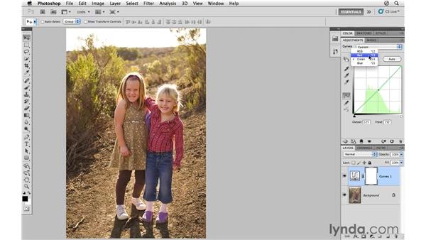 Using, modifying, and saving curves presets: Photoshop CS5 for Photographers